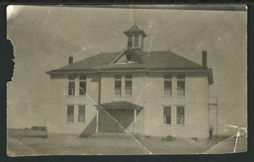 Brewster schoolhouse in Brewster, Kansas - Page