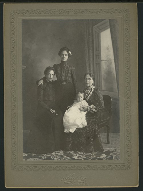 Carrie Pratt Warner, Cora E. Price, and Georgia Hawkins - Page