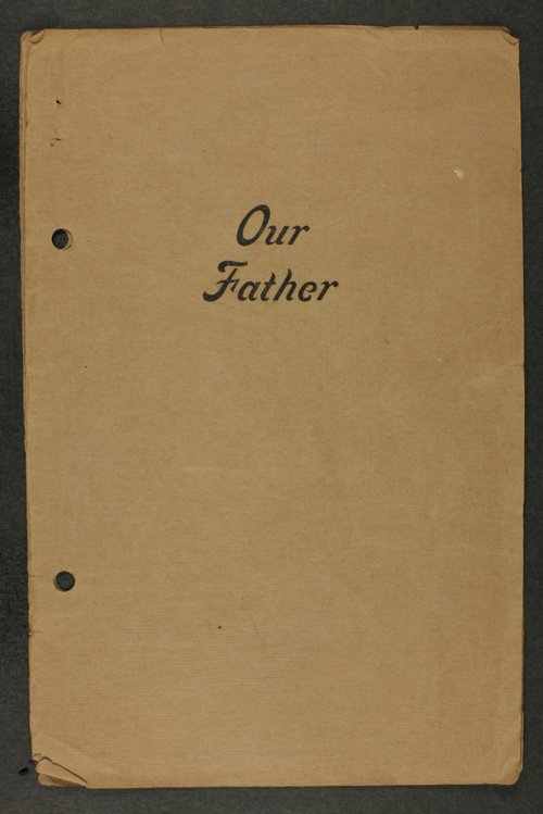 Our Father - Page