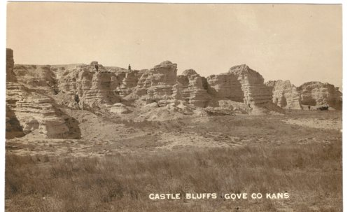 Castle Bluffs in Gove County, Kansas - Page