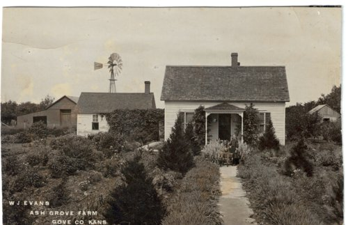 W. J. Evans' Ash Grove farm in Gove County, Kansas - Page