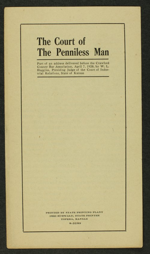 The court of penniless man - Page