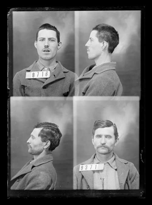 H. Herman and C. Simmons, prisoners 9371 and 8716, Kansas State Penitentiary - Page