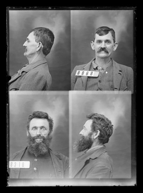 H. H. Hyde and B. Kelsch, prisoners 8868 and 8318, Kansas State Penitentiary - Page