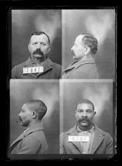 W. Grimmett and J. Yordi, prisoners 8107 and 2862, Kansas State Penitentiary - Page