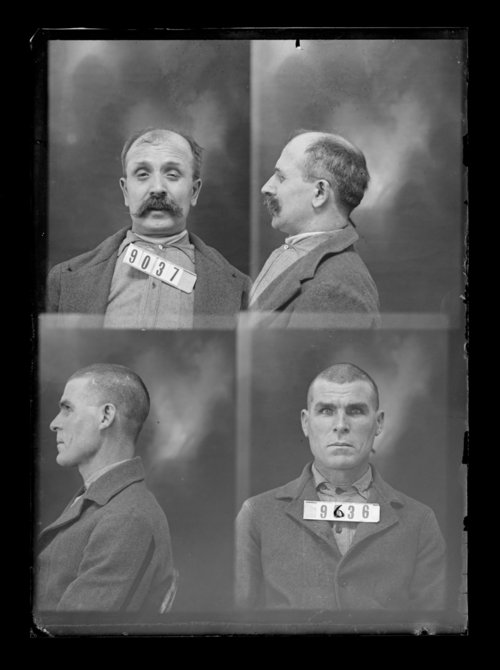 Ed Johnson and F. Summers, prisoners 9636 and 9037, Kansas State Penitentiary - Page