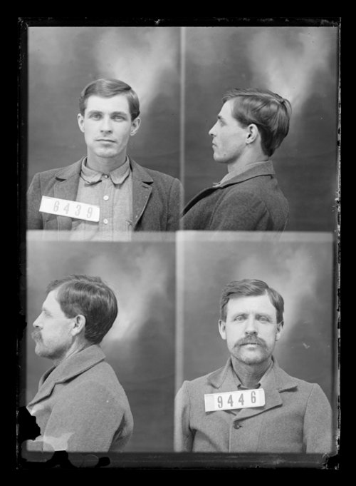 J. C. Williams and F. Lewis, prisoners 9446 and 6439, Kansas State Penitentiary - Page