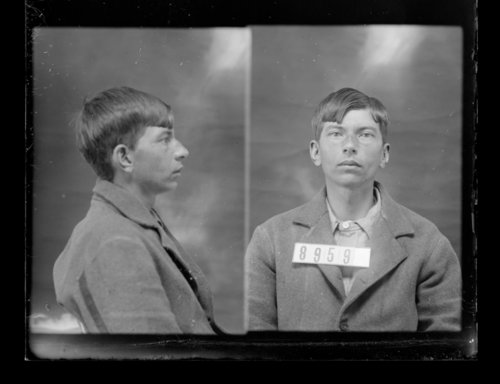 Willis Smith, prisoner 8959, Kansas State Penitentiary - Page