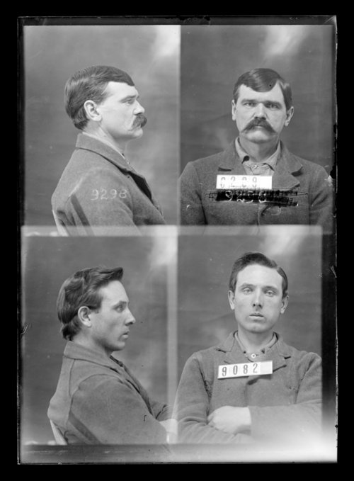 Charles Bunzell and William Kee, prisoners 9082 and 9298, Kansas State Penitentiary - Page