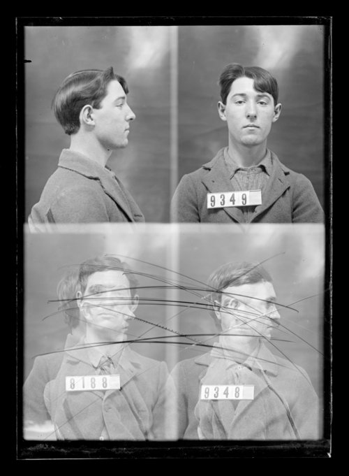 Arthur Church, prisoner 9349, and two unkown prisoners, 8188 and 9348, Kansas State Penitentiary - Page