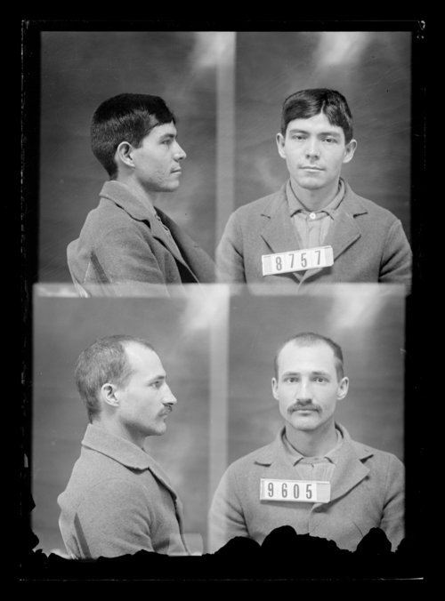 D. S. Viers and T. Wind, prisoners 9605 and 8757, Kansas State Penitentiary - Page
