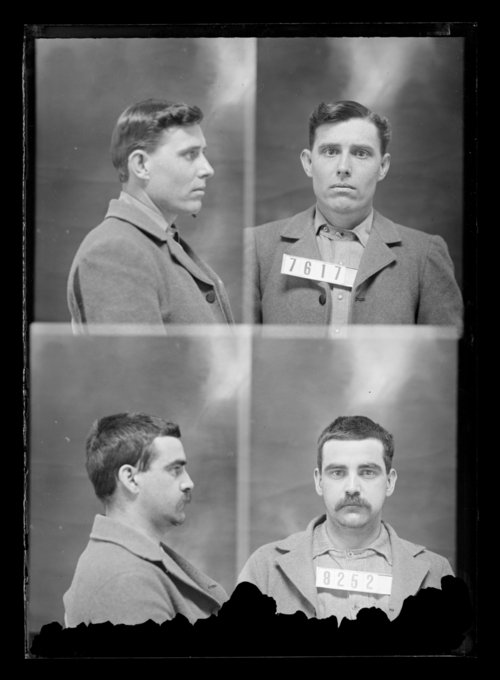 G. R. Estell and Joe Wade, prisoners 8252 and 7617, Kansas State Penitentiary - Page