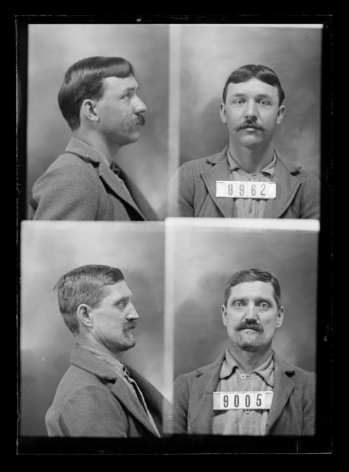 Charles Miller and A. Dix, prisoners 9005 and 8962, Kansas State Penitentiary - Page