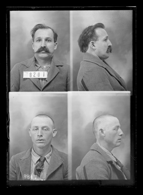 F. Tucker and S. Quick, prisoners 8813 and 8201, Kansas State Penitentiary - Page