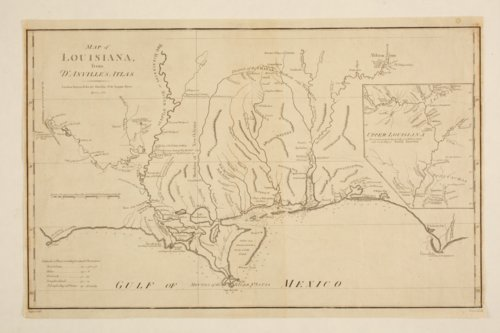 Map of Louisiana from D'Anville's atlas - Page