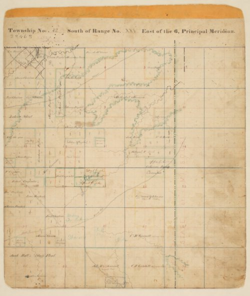 Township No. 42 south of range XXV east of the 6, principal meridian - Page