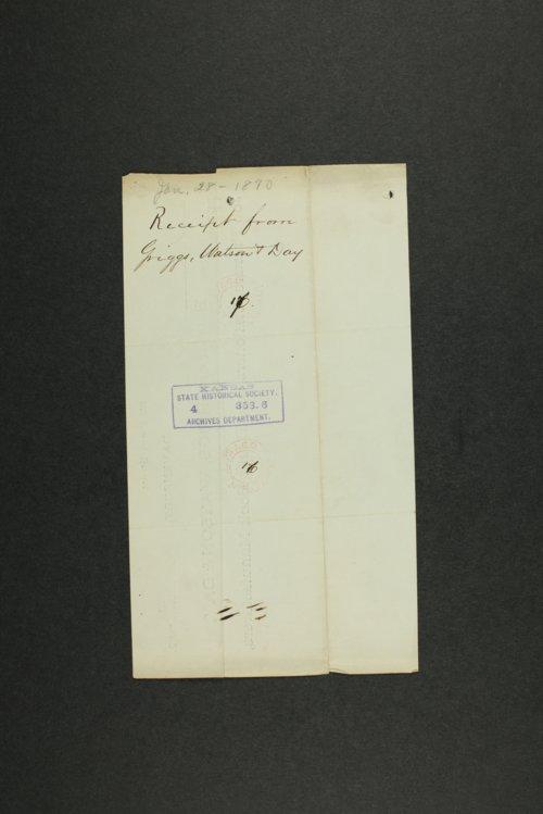 Kansas Adjutant General general correspondence, 1870 - Page