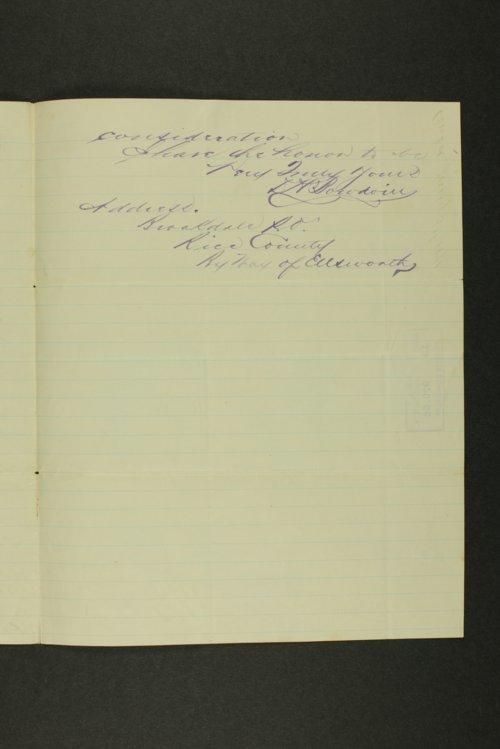 Kansas Adjutant General general correspondence, 1871 - Page