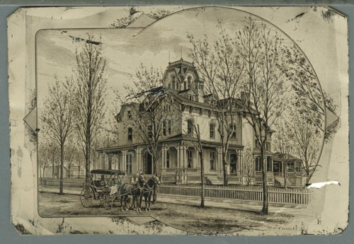 Alexander Caldwell home in Leavenworth, Kansas - Page