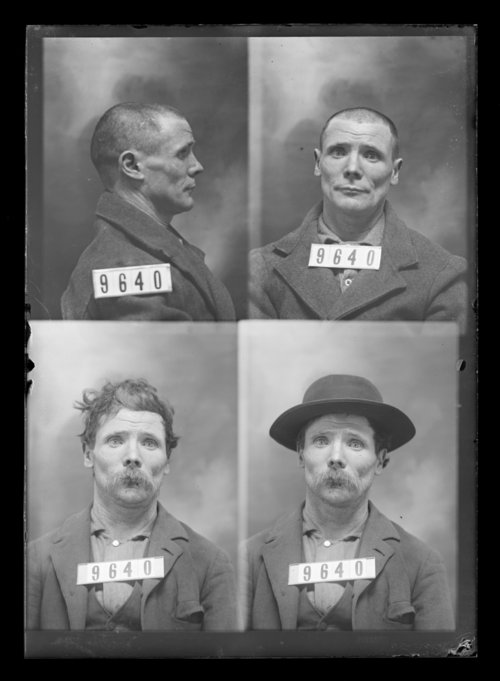 P. Laughlin, prisoner 9640, Kansas State Penitentiary - Page