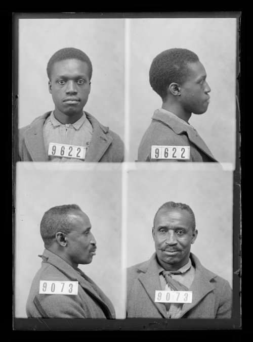 William Johnson and Martin Bates, prisoners 9073 and 9622, Kansas State Penitentiary - Page