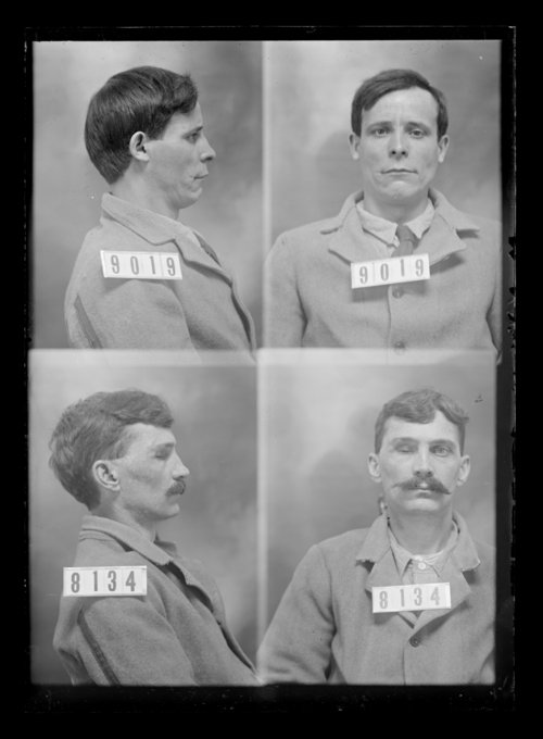 Jack Monroe and William Morris, prisoners 9019 and 8134, Kansas State Penitentiary - Page