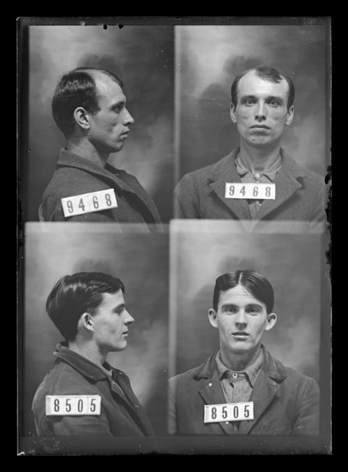 James Riley and Harry Seigle, prisoners 9468 and 8505, Kansas State Penitentiary - Page