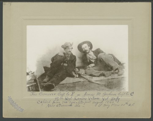 John Conover and James Graham, 8th Kansas Volunteer Infantry - Page