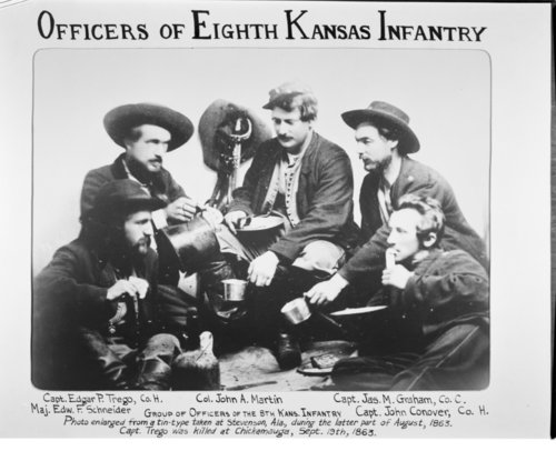 Officers of the 8th Kansas Infantry - Page