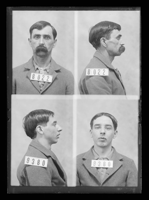 Jonathan Steward and C. W. Hunting, prisoners 9380 and 8022, Kansas State Penitentiary - Page