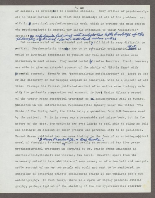 Harry Guntrip manuscripts - Page