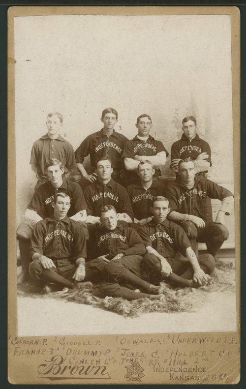 Baseball team, Independence, Kansas - Page