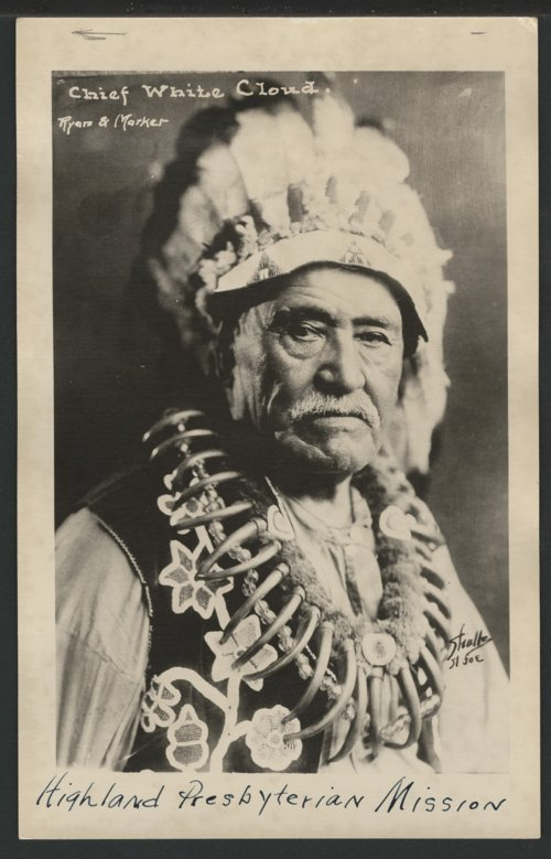 Chief White Cloud - Page