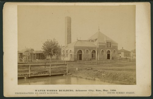 Water works building in Arkansas City, Kansas - Page