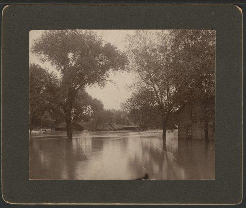 Flood scene in Topeka, Kansas - Page