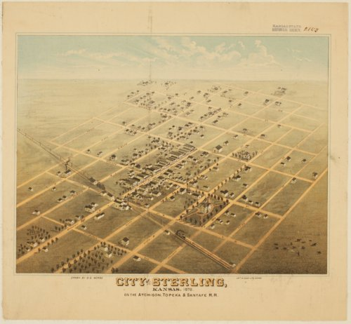 Bird's Eye View of Sterling, Kansas - Page
