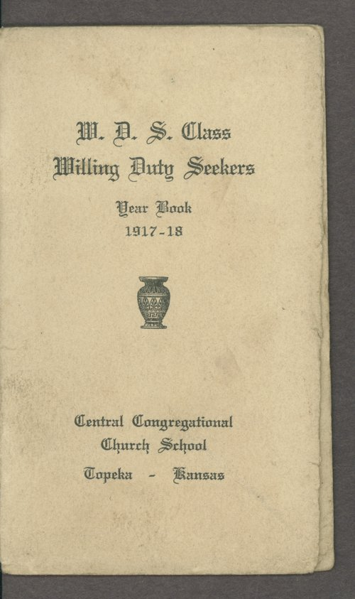 Willing Duty Seekers of Central Congregational Church - Page