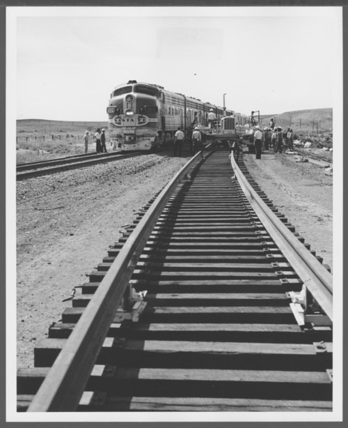 Atchison, Topeka & Santa Fe Railway's Chief near French, New Mexico - Page