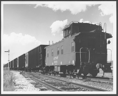 Atchison, Topeka & Santa Fe Railway's coal train near Las Vegas, New Mexico - Page