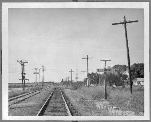 Missouri- Kansas-Texas Railroad sign, Elsmore, Kansas - Page