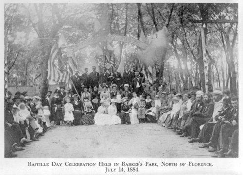 Bastille Day celebration in Florence, Kansas - Page