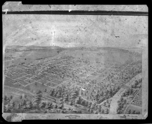 Bird's eye view of Humboldt, Kansas - Page