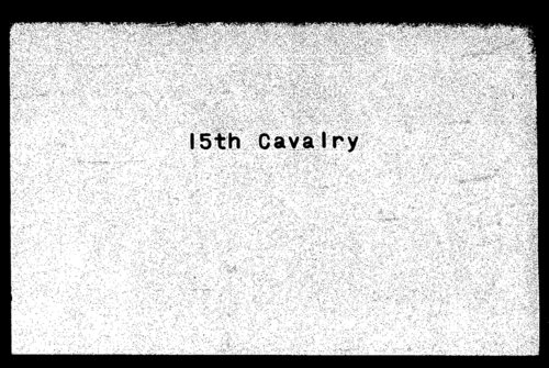 Descriptive roll, Fifteenth Regiment, Cavalry, Kansas Civil War Volunteers, volume 6 - Page