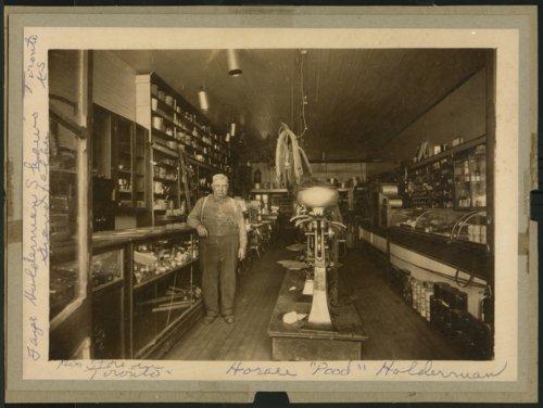 "Horace ""Pood"" Holderman's hardware store in Toronto, Kansas - Page"