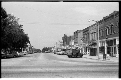 Street scene in Humboldt, Allen County, Kansas - Page