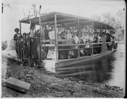 Excursion on the Neosho River, Humboldt, Allen County, Kansas - Page