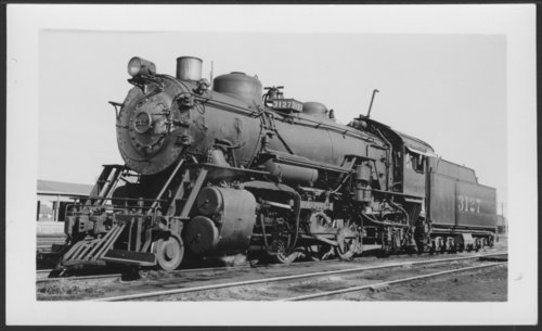 Atchison, Topeka & Santa Fe Railway Company's steam locomotive #3127 - Page
