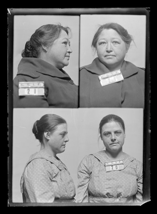 Rhoda Rothwell and Maude Millner, prisoners 20 and 21, Kansas State Industrial Farm for Women - Page