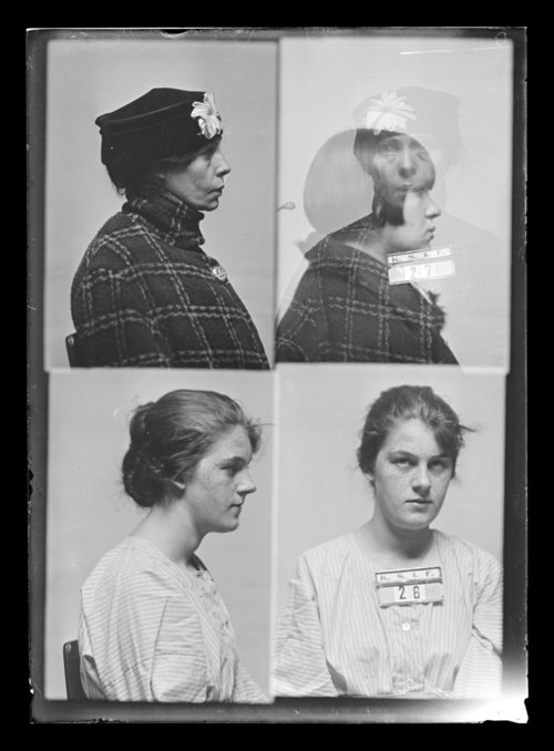 Olive Johnson and Etta Forsythe Trumbull, prisoners 26 and 27, Kansas State Industrial Farm for Women - Page