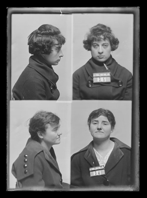 E. Vanover and Elsie King, prisoners 35 and 34, Kansas State Industrial Farm for Women - Page